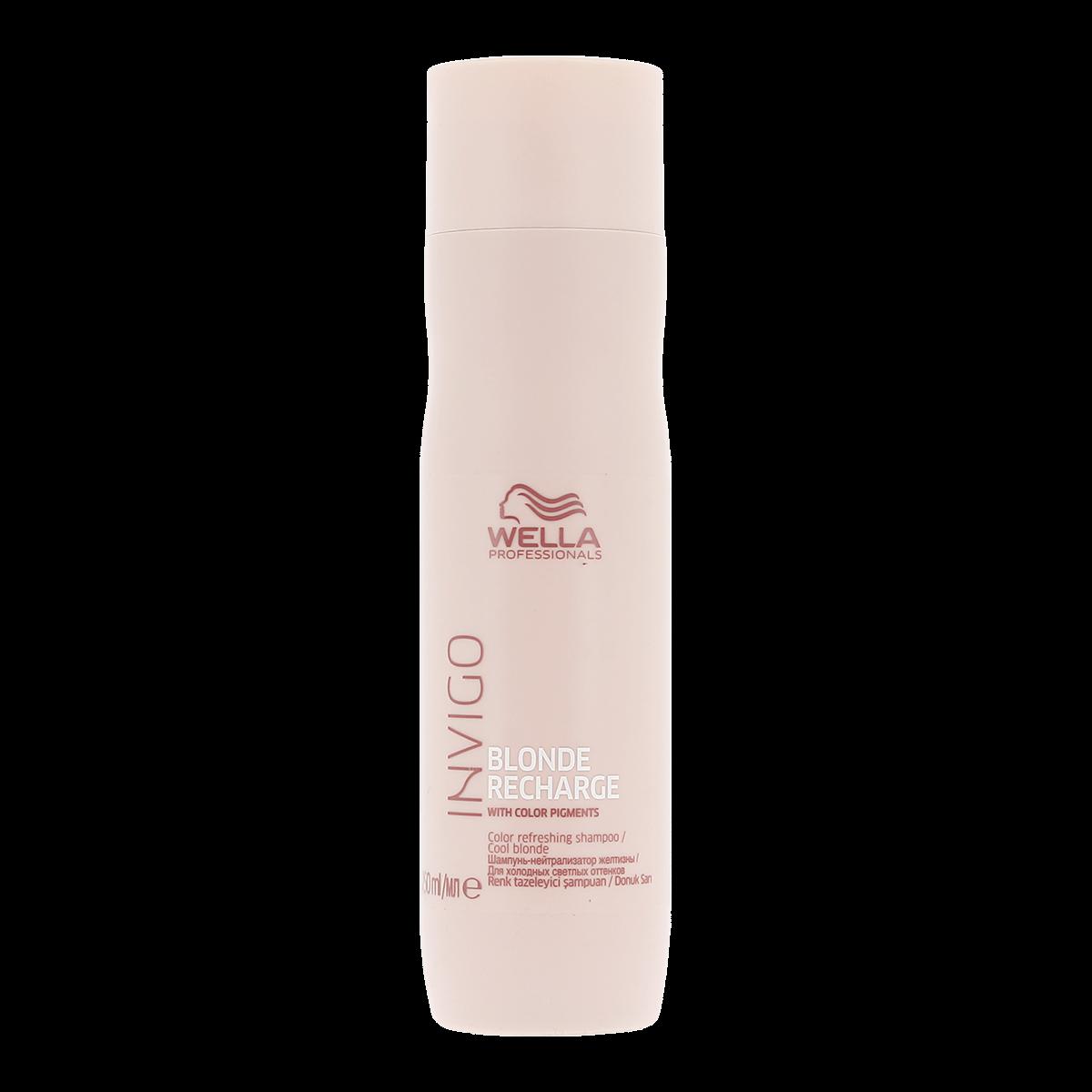 Wella Invigo Blonde Recharge Cool Blonde Shampoo 250ml e84791b54f6
