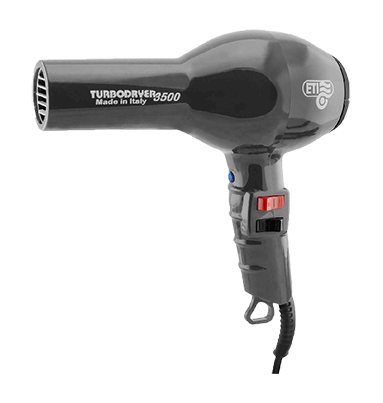 ETI Turbodryer 3500 Professional Hairdryer Gunmetal
