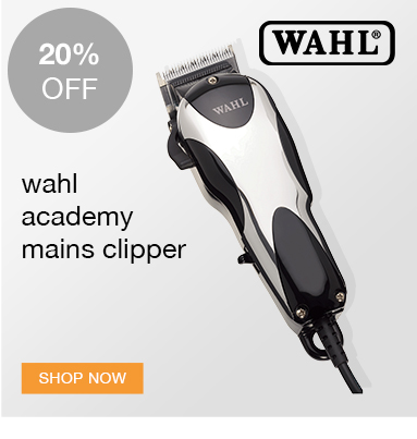 save 20% on Wahl Academy Mains Clipper