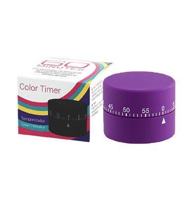 DMI Soft Touch Mechanical Timer - Purple