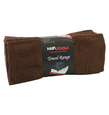 Hairtools Luxury Chocolate Towels