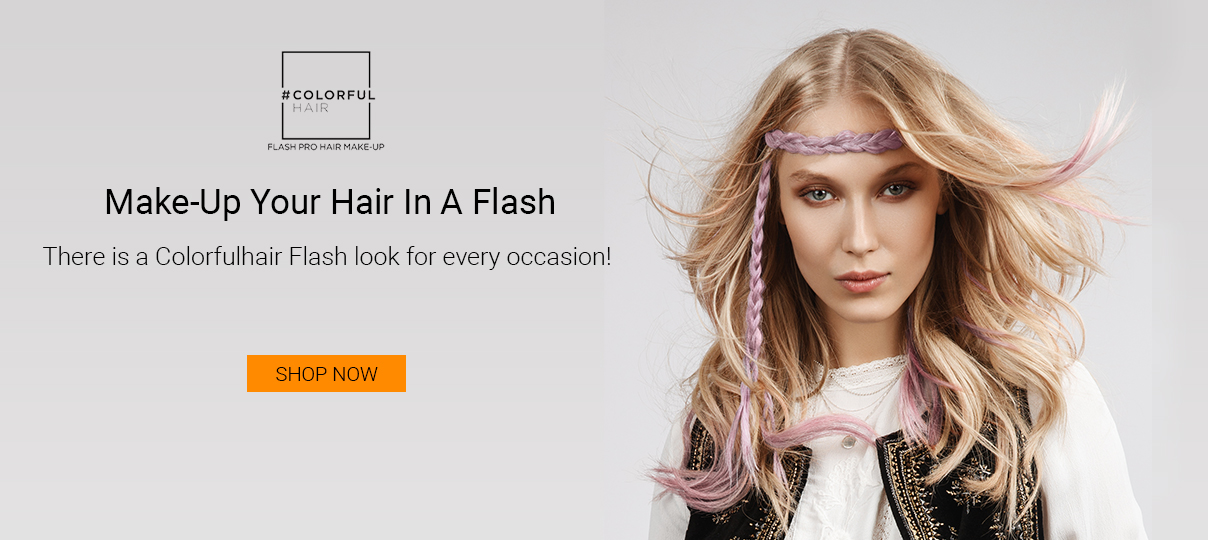 colorful hair flash pro