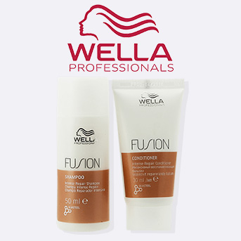 buy any 2 or more wella fusion intense products and get a free wella fusion intense gift