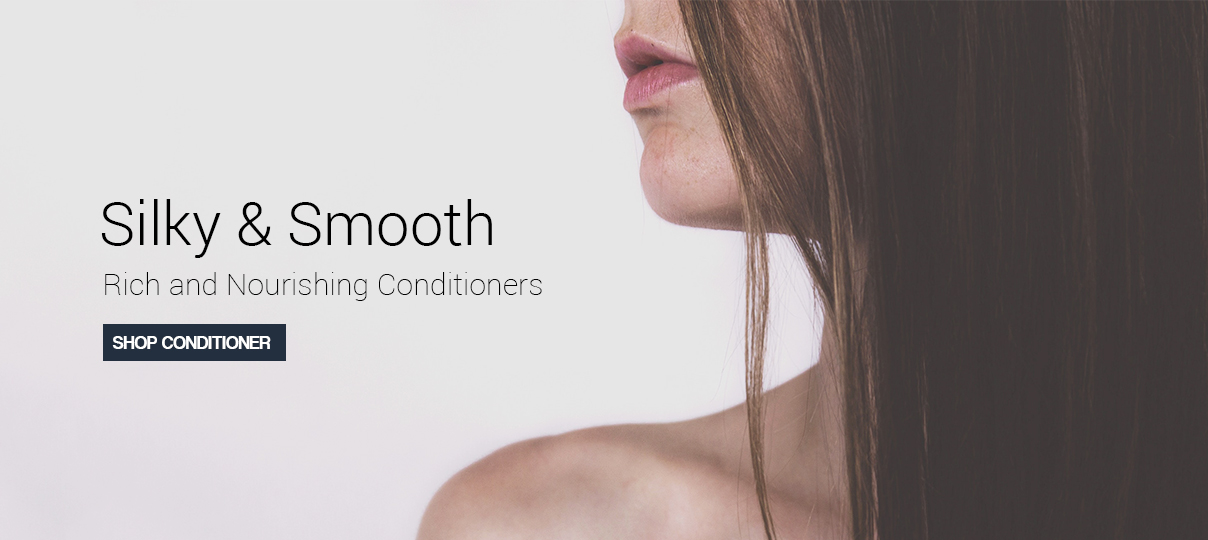 Provide silky and smooth hair with our rich and nourishing conditioners.